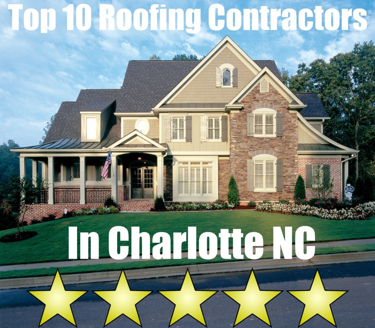 Top 10 Roofing Contractors in Charlotte NC